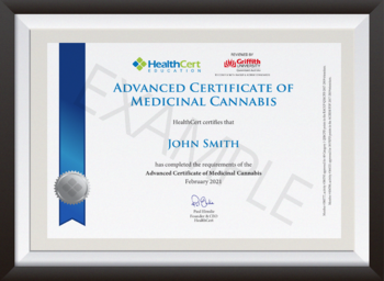 Advanced Certificate of Medicinal Cannabis