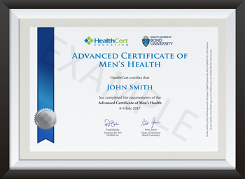 Advanced Certificate of Men's Health