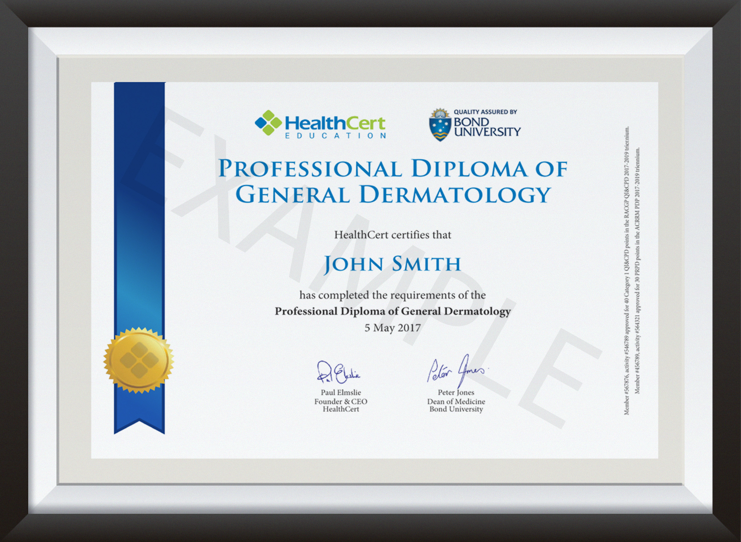 Professional Diploma of General Dermatology