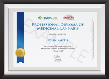 Professional Diploma of Medicinal Cannabis