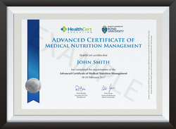 ACNUT certificate