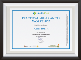 Certificate Practical Skin Cancer Workshop__EDIT