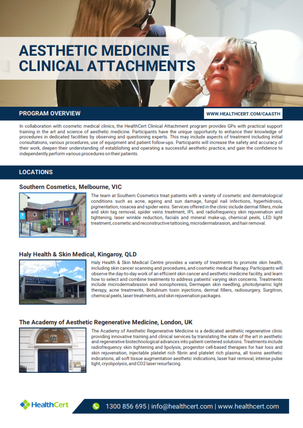 Aesthetic_Medicine_Clinical_Attachments_Brochure_Image