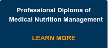 Professional Diploma of Medical Nutrition Management